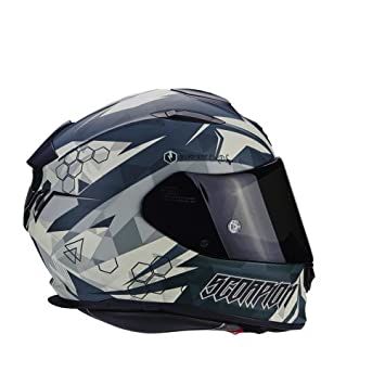 Scorpion Casco Moto exo-510 Air Cipher, Green, XS