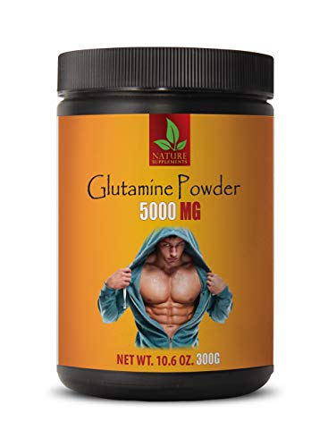 pre Workout Women Weight Loss - GLUTAMINE 5000MG Powder - l-glutamine Amino Acid - 1 Can 300 Grams