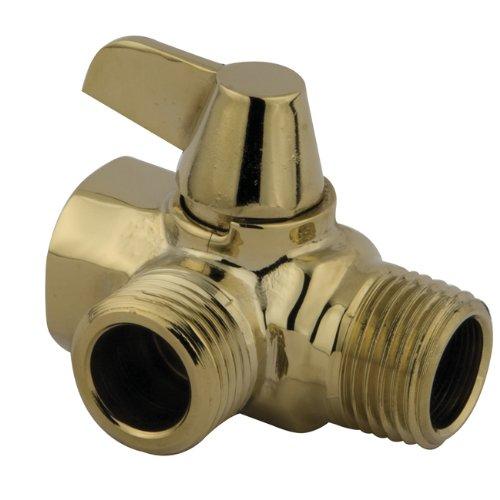 Kingston Brass K160A2 Designer Trimscape Showerscape Wall Mount Shower Arm Diverter, Polished Brass by Kingston Brass (Image #2)