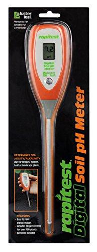 Rapitest Ph Meter - Luster Leaf 1845 Rapitest Digital Soil Garden Plant pH Meter Sensor Test Tester by BombDealsStore