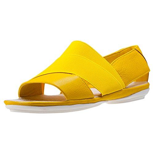 Mujer Zuecos Zapatos de playa Zapatos del jardín Zapatillas de sauna Sandalias CL 263, Braun / Mint, 41 EU