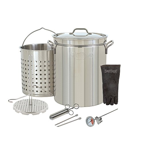 Large 44 Quart Stainless Steel