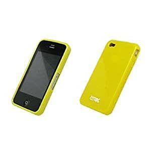 iPhone 4 / iPhone 4S Case, Empire New-skin Case Poly Protector, Yellow (AT&T)