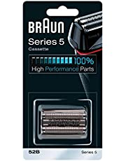 Braun 52B Replacement Cassette For Shaver Model 540s, black