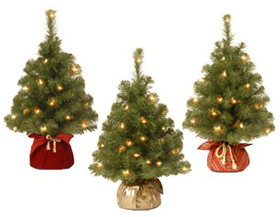 NATIONAL TREE CO-IMPORT NBA2-20GBCL-B Noble Art Spruce Tree, 2-Inch by National Tree Company