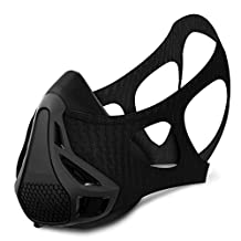 Workout Elevation Training Mask, 4 Inhaling Resiatance Level Regulate Oxygen Intake, Ideal for Various Training & Sports High Altitude Simulation Mask Increase Your Cardiovascular Endurance