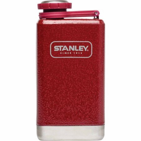 Stanley Adventure Stainless Steel Flask, Flannel Red, - Adventure Stanley Flask