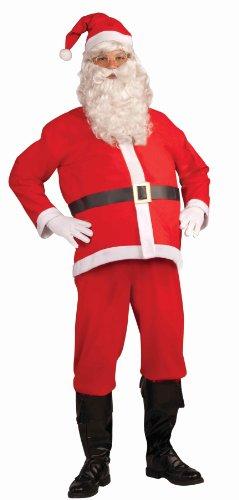 Santa Claus Costume Amazon (Forum Santa Claus Adult Costume, One size)