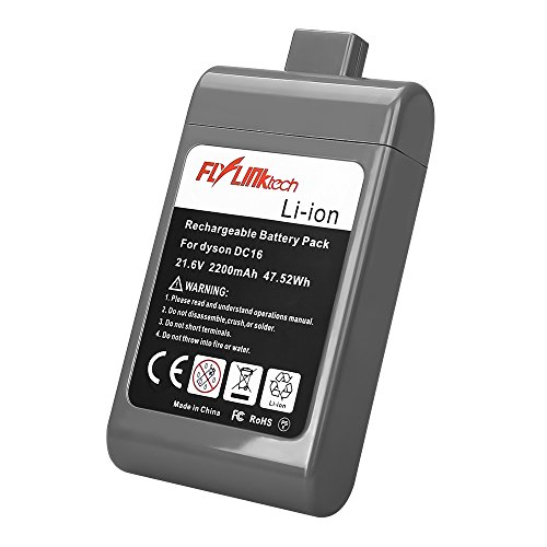 Flylinktech 2200mAh 21.6v Li-ion Replacement Battery for Dys