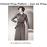 Crochet a Charming Size 16 Vintage Dress Pattern