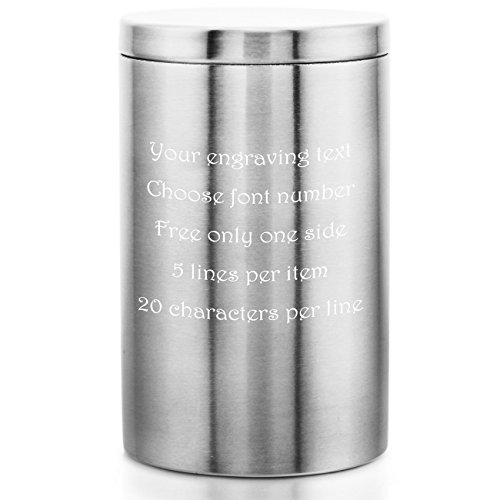 (MeMeDIY Silver Tone Stainless Steel Cigarette Case (Hold 20) - Customized Engraving)