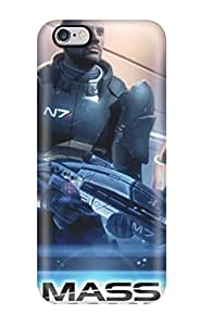 Hot Design Premium YLylDGF1158SpWHN Tpu Case Cover Iphone 6 Plus Protection Case(mass Effect)