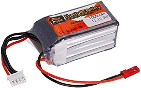 zop power Sunrobotics Lipo Rechargable Battery Power Supply Best For RC Cars Helicopter Drones Diy Robotics Original 3S (1000Mah 11.1V 30C) Remote Controlled Devices at amazon