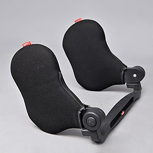 Klumart Car Seat Travel Pillow Neck Support Cushion,Car Pillow Used To Sleep , black by Klumart
