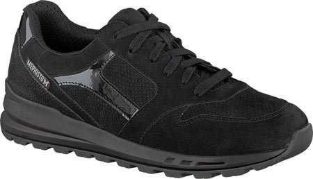 Shoe Bucksoft Mephisto Walking Leather Women's Black Cross pxcz6wvBq