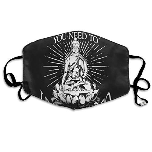 uZQKWFThLX Go Buddha Custom Mouth Mask Anti-Dust Face Mask -