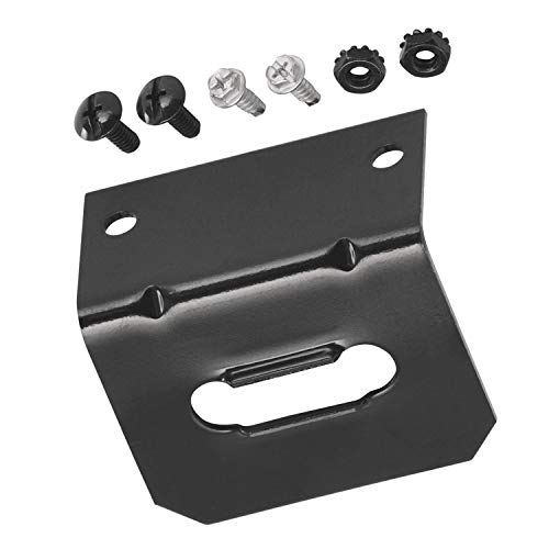 Tow Ready 4-Flat Mounting Bracket Hidden Hitch 118144 (Quantity 1)