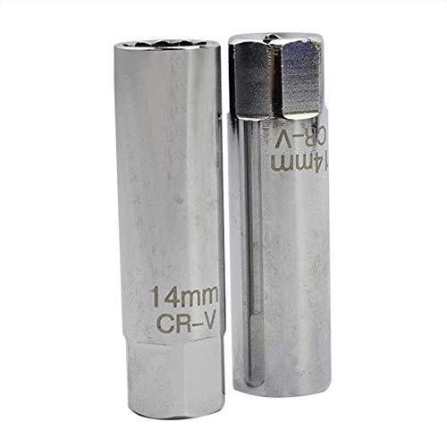 NPDSVVPTNE 14mm Mini Douille /à bougie Retirez Cl/é /à paroi mince 12 points Retrait magn/étique Outil 3//8 pouces entra/înement pour BMW Mini BI415