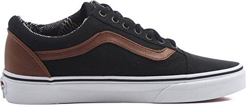 L Sneakers Homme Black Vans Material Mix Basses Sneakers c Vans Yvq4U