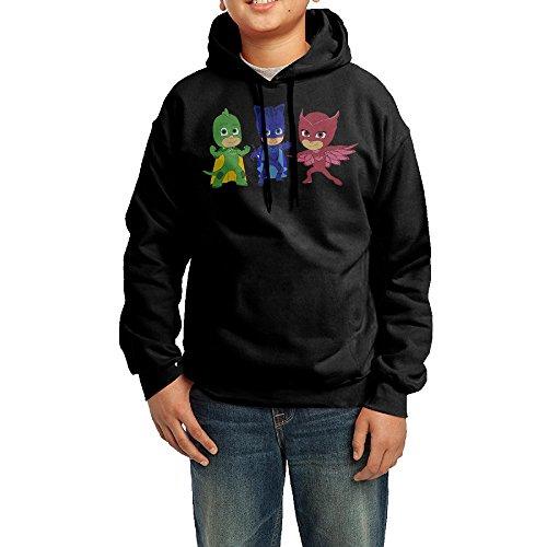 PJ Masks Cartoon Youth Classic Pullover Athletic Sweatshirt Hoodies