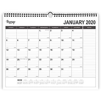 Amazon.com: Calendario de escritorio 2018-2019 Octubre 2018 ...
