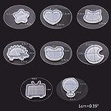 10pcs/1set Quicksand Resin Casting Molds UV Resin