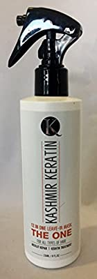 Kashmir Keratin THE ONE Leave In Mask 12 in 1 Hair Treatment 8 Fl Oz. NEW PRESENTATION / NEW FORMULA