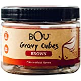 BOU Brown Gravy Cubes, Pack of Six (6) 2.53 Ounce Containers Packed with Natural, Traditional Ingredients