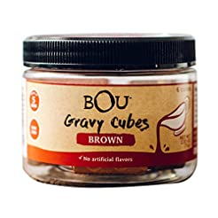 BOU Brown Gravy Cubes, Pack of Six (6) 2...