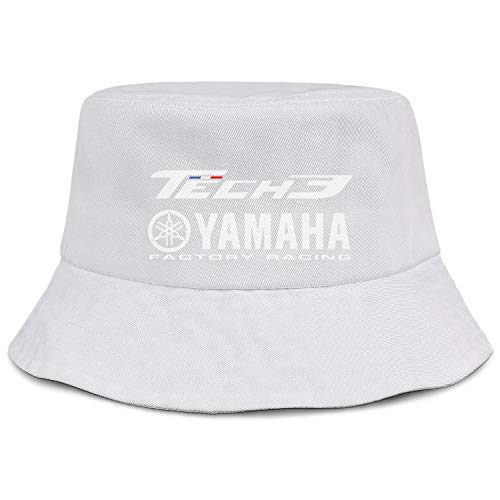 YUIOA Men/Womens White TECH-3-YAMAHA-RACING- Bucket, used for sale  Delivered anywhere in USA