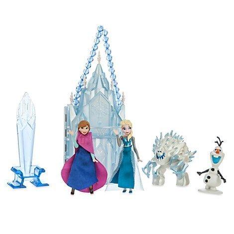 Disney Elsa Mini Castle Playset]()