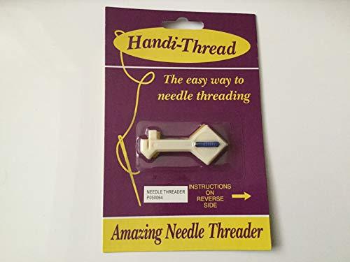 Clover Yarn Threader Antique steel Brown 1