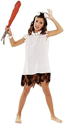Disfraz de Cavernícola para Niña: Amazon.es: Juguetes y juegos