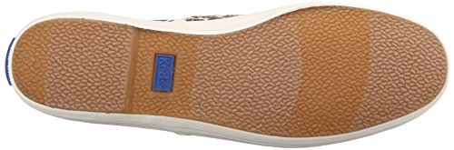 Keds Womens Champion Animal Slip-on Sneaker Marron Léopard