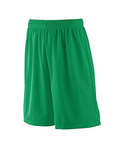 - Augusta Sportswear MEN'S LONG TRICOT MESH SHORT/TRICOT LINED 3XL Kelly