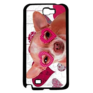 Valentines Chihuahua Hard Snap On Case (Galaxy Note 2 II)