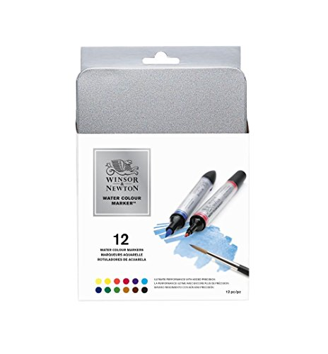 Winsor & Newton Watercolor Markers, Set of 13