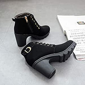Amazon.com : Top Shishang Snow Boots Cotton Boots Belt