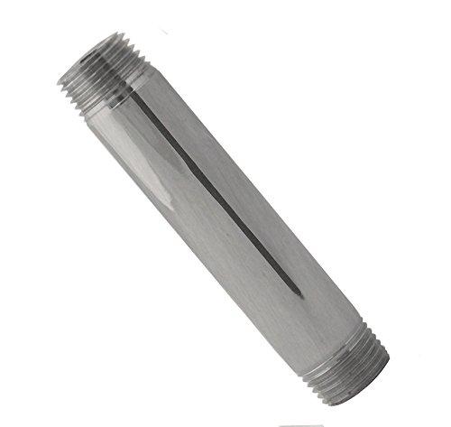 (Westbrass D12106-07 IPS Pipe Nipple, Satin Nickel)