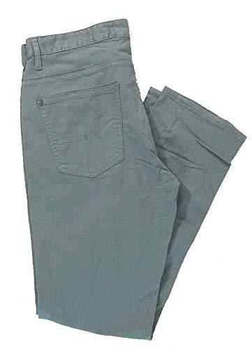 - Calvin Klein Men's Slim Straight Cotton Twill Jeans Pants (38W x 34L, Grey Dream)