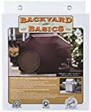 Backyard Basics Premium Universal Grill Cover, Black