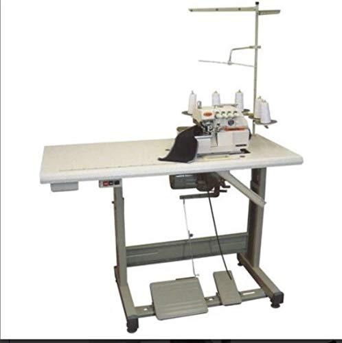 Yamata High Speed Industrial Serger Overlock Interlock Siruba type Table+Motor (Yamata FY757A - 2 Needle 5 Thread Safety Stitch)