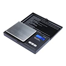 SODIAL(R) Mini Electronic Digital Pocket Scale Jewelry Weighing Balance Portable Scale 650g/0.1g Blue LCD g/gn/oz/ozt/ct/t/dwt