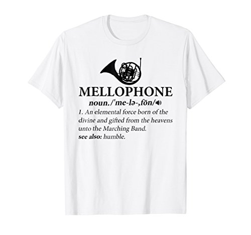 Mellophone Definition - Funny Mellophone T-Shirt