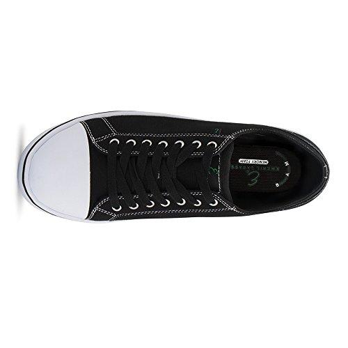 Emeril Lagasse Heren Kanaal Canvasmisstap-resistant Werkschoen Zwart