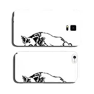 black and white boar vector illustration cell phone cover case Samsung S5