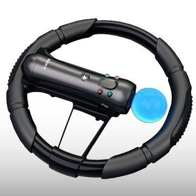 PS3 MOVE RACING CAR STEERING WHEEL BY
