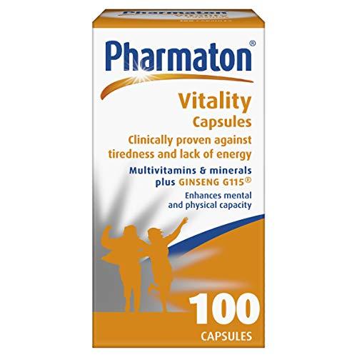 Pharmaton Vitality Capsules 100 Caps