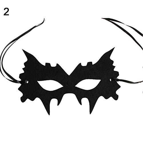 YuYe Women Sexy Self Tie Eye Mask Halloween Masquerade Party Dress Fancy Ball Costume - 2 -