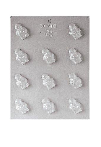Paderno World Cuisine 8 Imprint 1.875-Inch Polypropylene Chocolate Mold, Snowman ()
